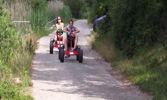 Die Pedal Go Kart Geburtstags Tour Durch Den Oberwald Karlsruhe
