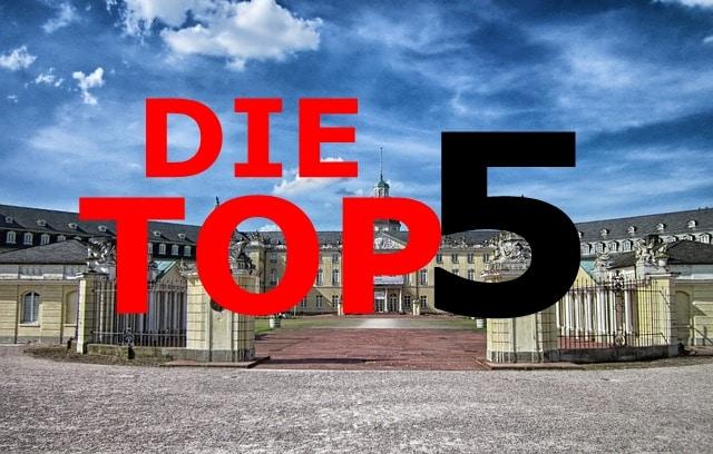 Die Top 5 Die Schonsten Sehenswurdigkeiten In Karlsruhe