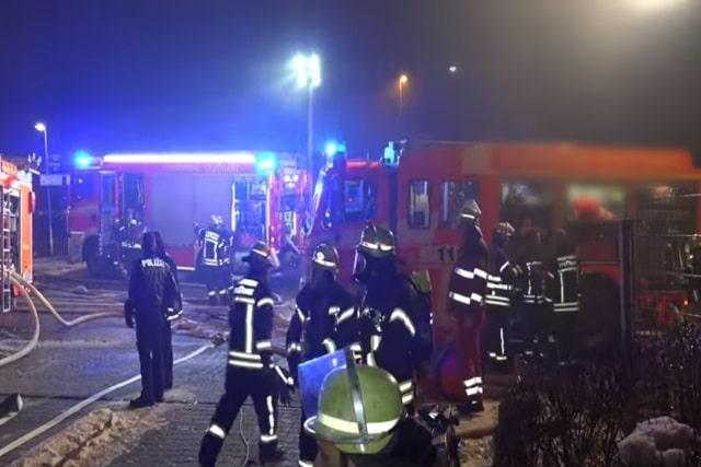 Brand Karlsruhe Heute