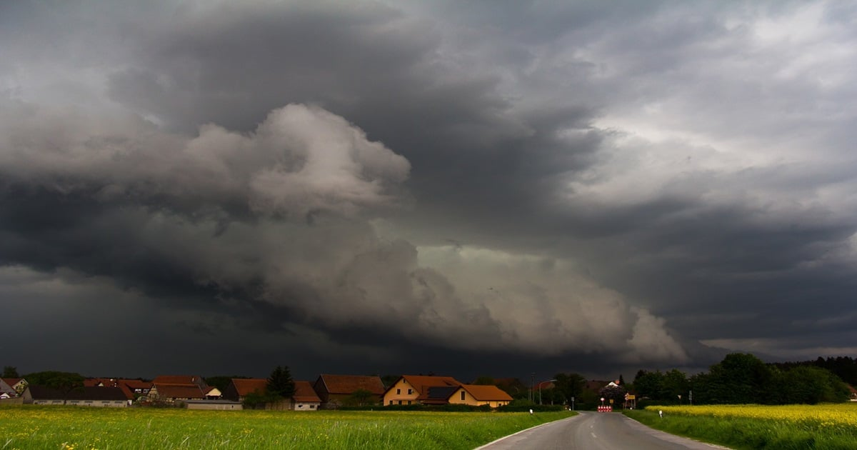 Unwetterwarnung Karlsruhe Aktuell