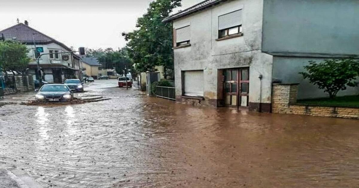 Unwetter Karlsruhe