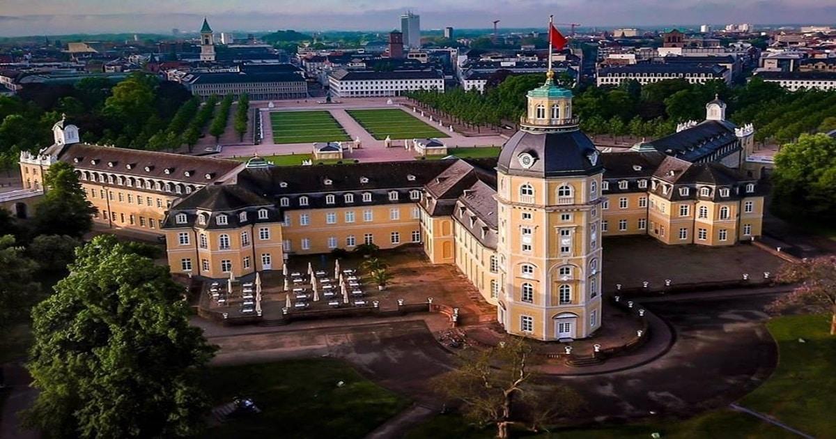 Schloss Karlsruhe Beleuchtung