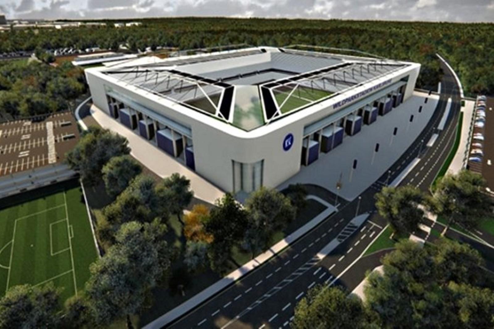Stadionbau Karlsruhe