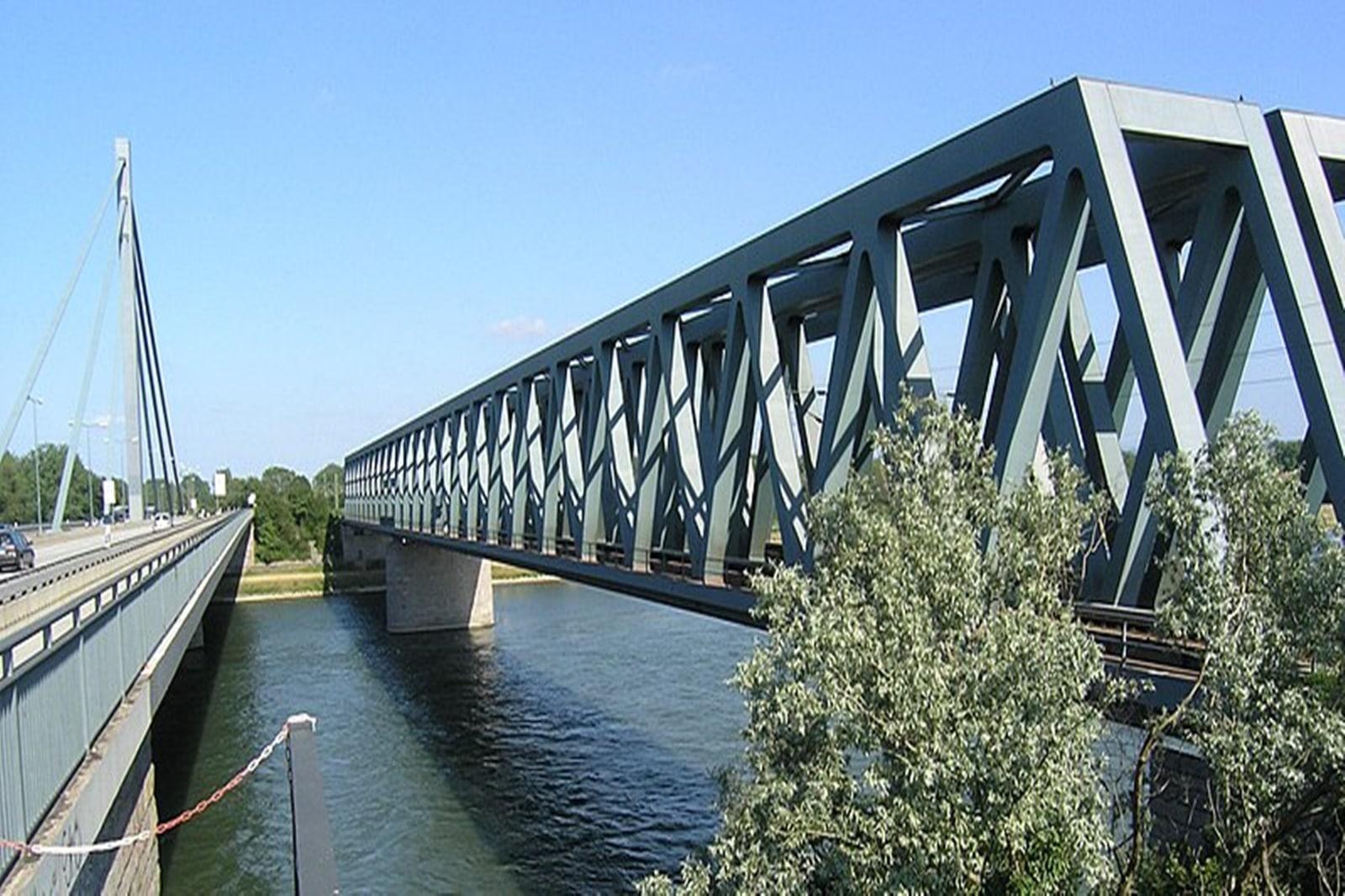 Baustelle Rheinbrücke