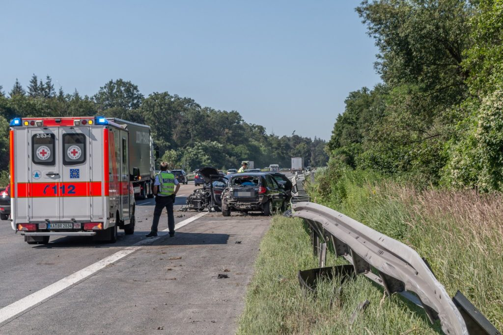 A5 Unfall Karlsruhe
