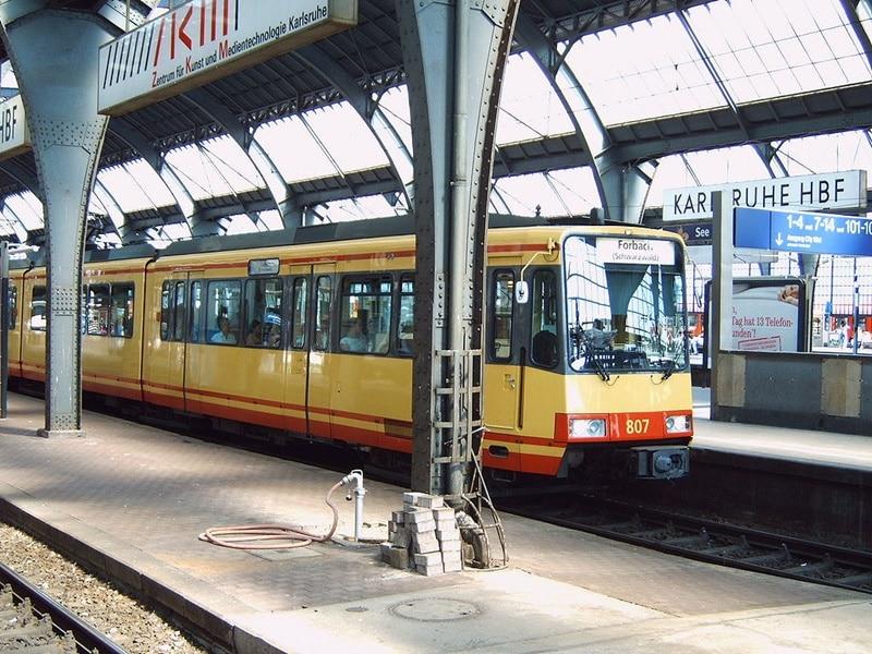 Bahn Störung Karlsruhe
