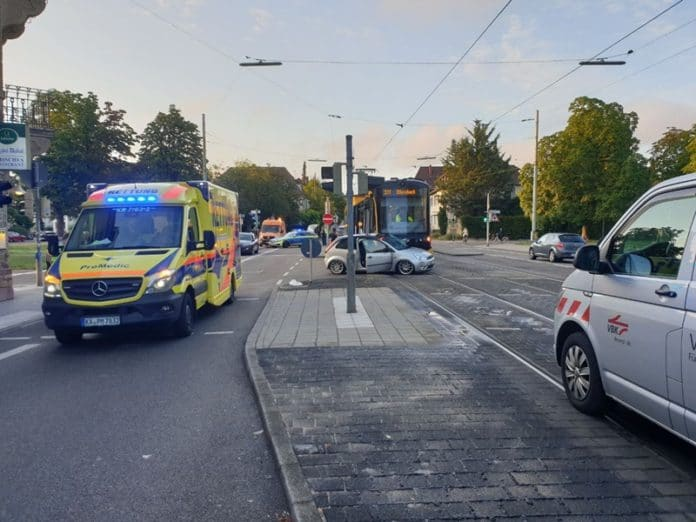 Bahnunfall Karlsruhe