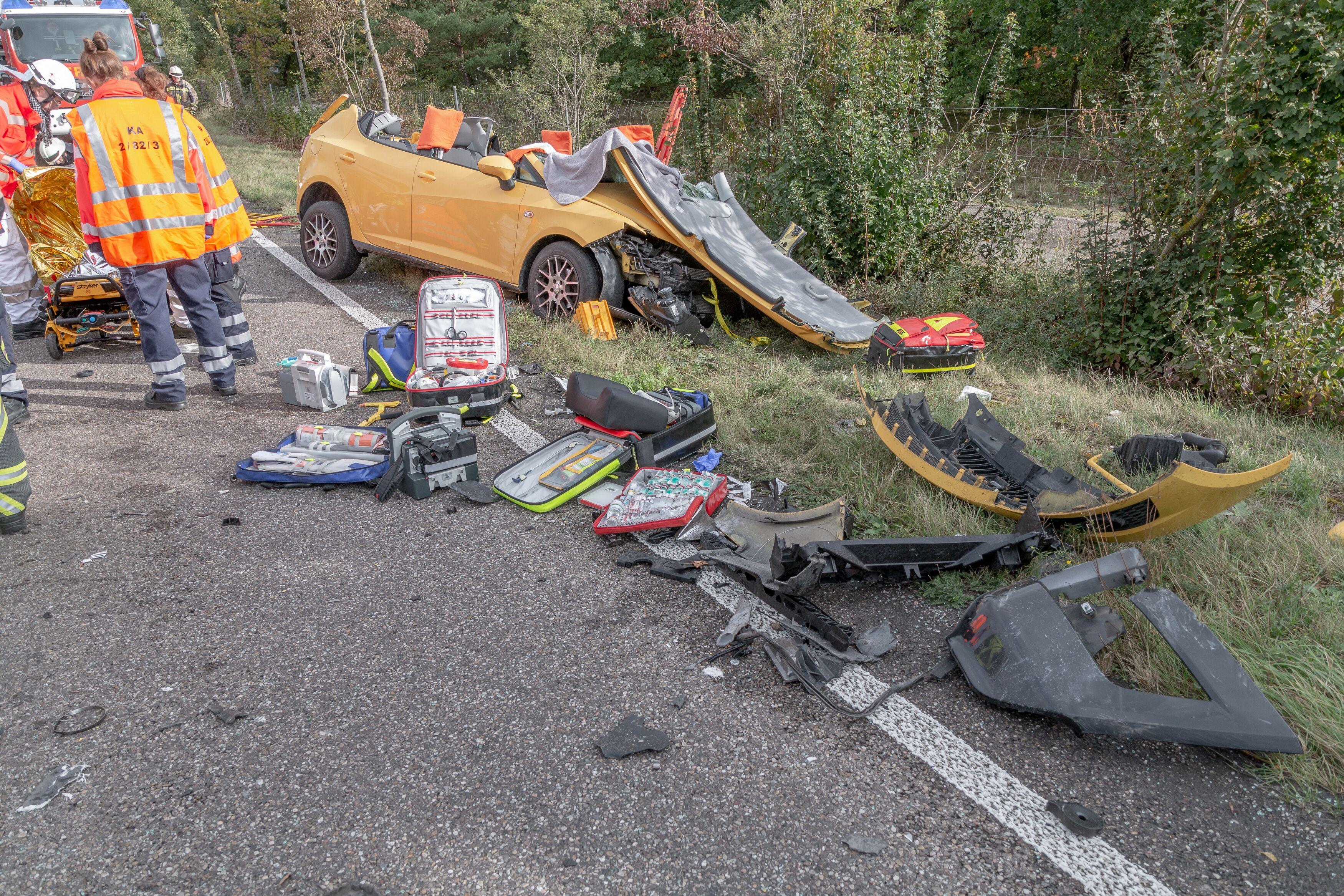 Unfall Karlsruhe