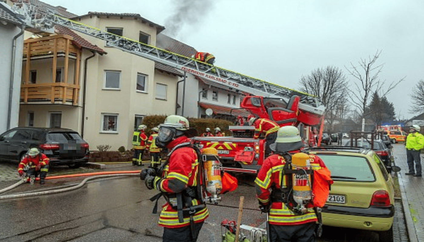 Feuer Karlsruhe