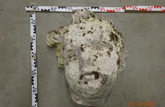 Dieser Kopf wurde gefunden