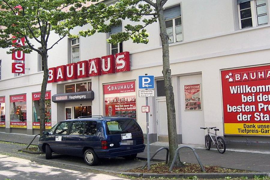 Bauhaus Karlsruhe Südstadt