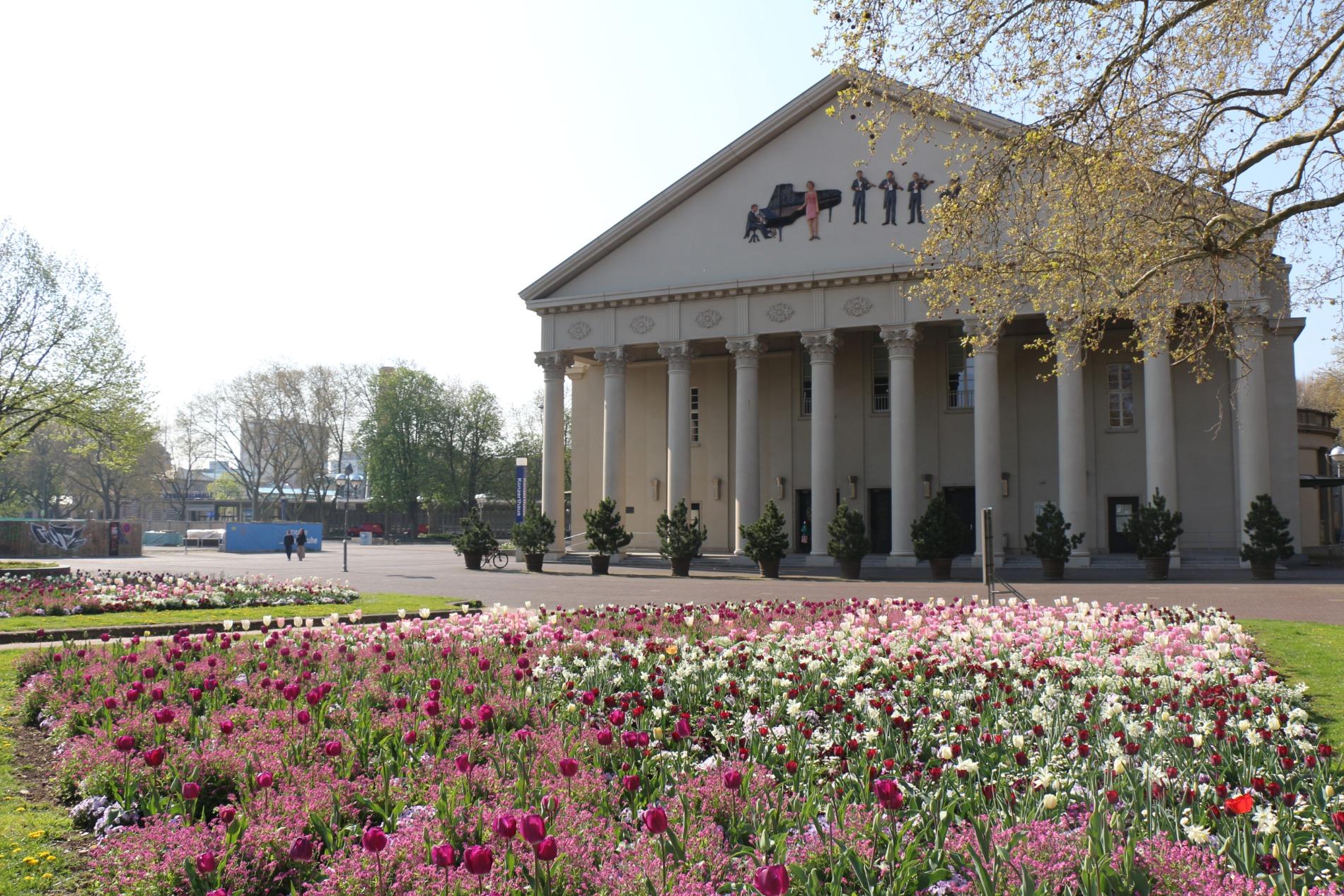 Das Konzerthaus in Karlsruhe