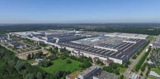 Mercedes Benz Werk in Rastatt von Daimler