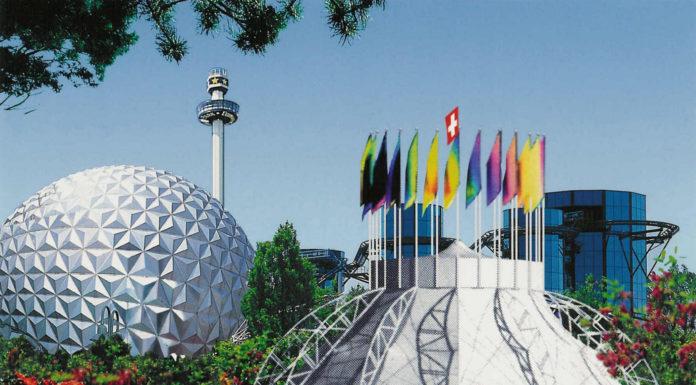 Der Freizeitpark Europapark in Lahr