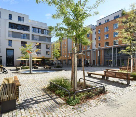 Der Citypark in Karlsruhe