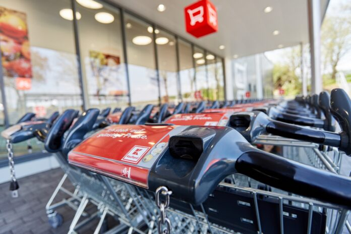 Einkaufswagen bei Kaufland