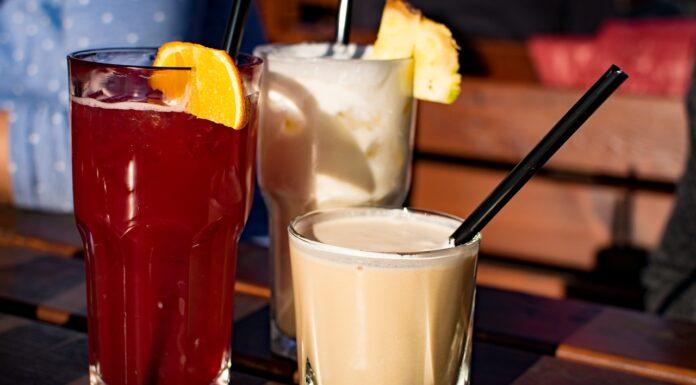 Getränke Cocktails im Biergarten