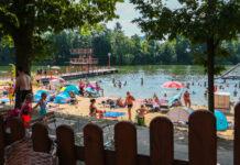 Badesee Strandbad in Deutschland