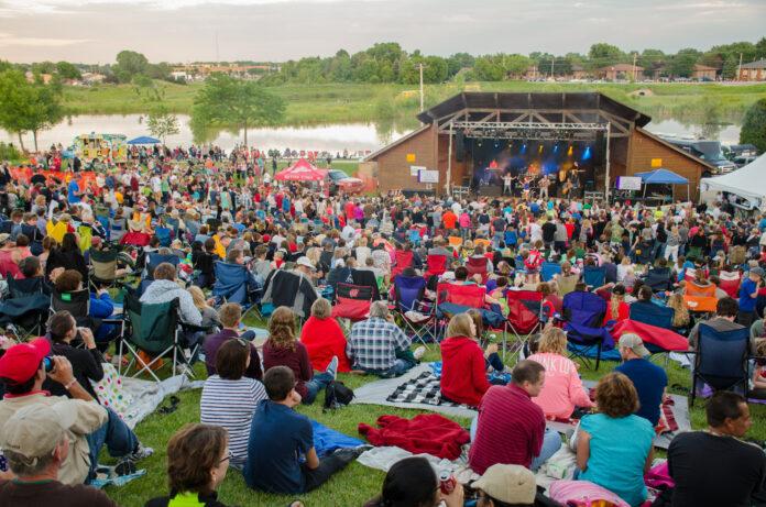 Open-Air-Festival am See