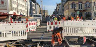 Schienen Hitze Karlsruhe