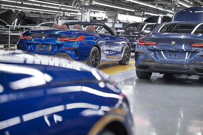 Produktion im BMW-Werk