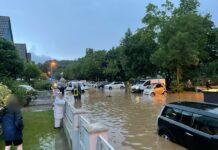 Hochwasser erreicht Ortschaft
