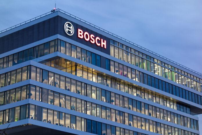 Zentrale vom Hersteller Bosch mit Logo