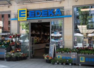 Edeka Supermarkt eingang
