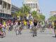 radfahrer demo auf straße