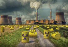 Atommüll mit Atomkraftwerk