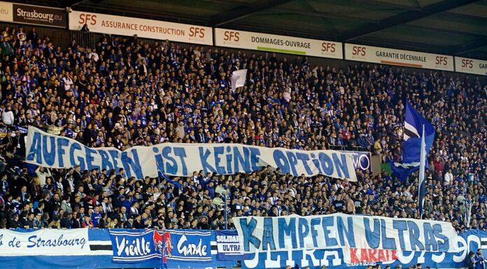 Karlsruher SC Fans im Wildparkstadion