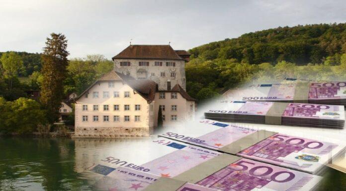 Schatz im Rhein