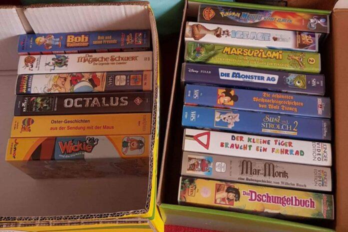 Diese Videokassetten sind er Vermögen wert