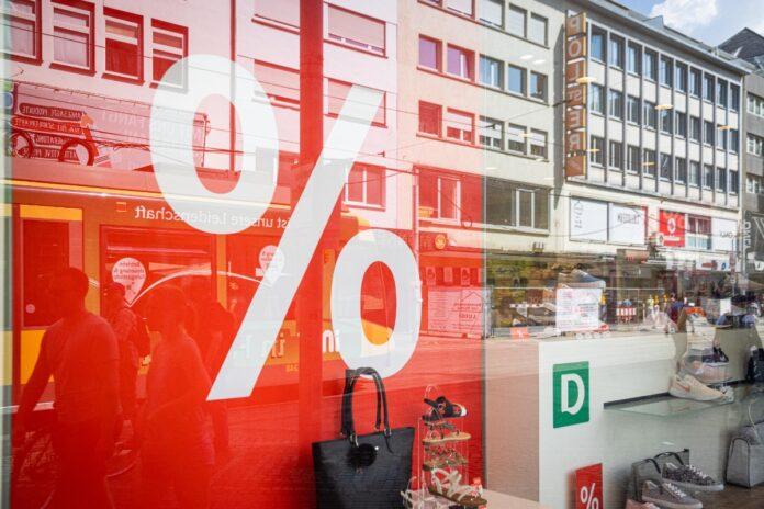 Sommerschlussverkauf in Karlsruhe