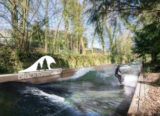 """Neue Attraktion """"Surfanlage""""Black forest wave"""