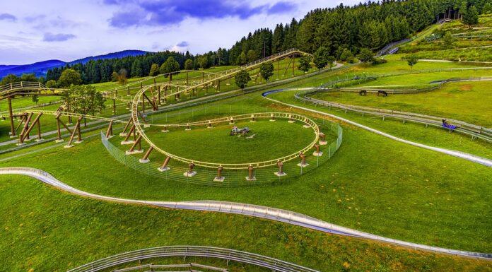Sommer-Rodelbahn im Schwarzwald