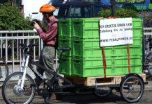 Lastenräder ersetzten Lkws