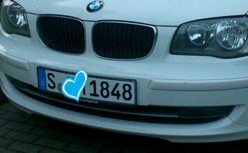 Stuttgarter Autokennzeichen