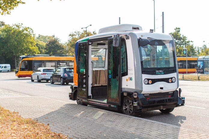 Autonome Mini-Busse in Karlsruhe