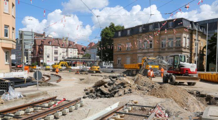 Baustellen in Karlsruhe