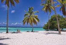 Trauminsel mit Strand