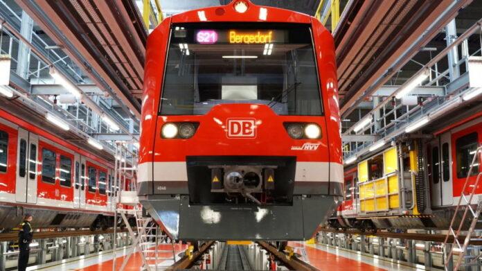 Deutsche Bahn reperatur